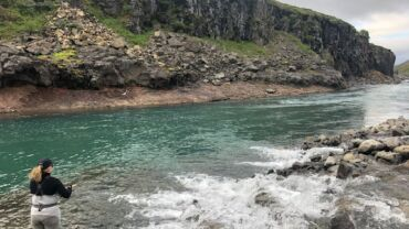 Useful info about Icelandic rivers and price of salmon fishing.